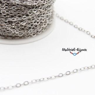 chaine inoxydable pour bijoux