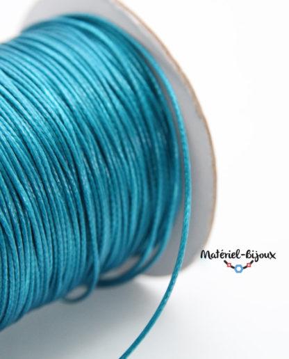cordon coton bleu turquoise